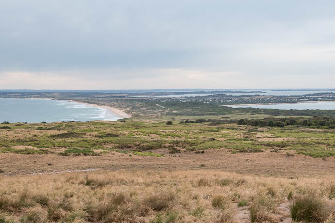 View of Cape Woolamai from The Beacon