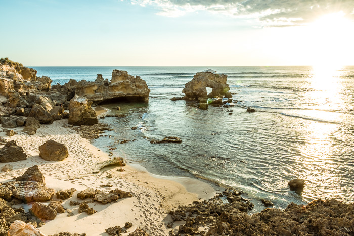 Blairgowrie Jumping Rock and Rock Pools - Humble Trail
